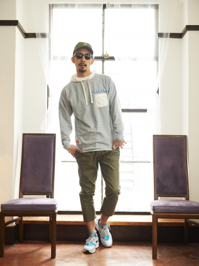 LIFE 4PANEL CAP / WORK PULL OVER HOODIE / LIFE WORK CHINO