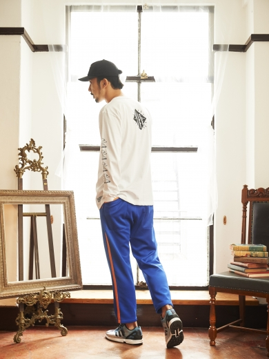 IL LOGO 6PANEL CAP / EXPLOSION LS TEE / LIFE LINE JERSEY PANTS